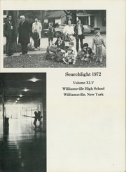 Page 7, 1972 Edition, Williamsville High School - Searchlight Yearbook (Williamsville, NY) online yearbook collection