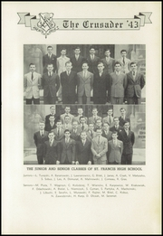 Page 51, 1943 Edition, St Francis High School - Crusader Yearbook (Athol Springs, NY) online yearbook collection
