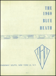 Page 7, 1960 Edition, Mother Butler Memorial High School - Blue Heath Yearbook (Bronx, NY) online yearbook collection