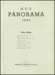 Page 5, 1945 Edition, Hinsdale Central High School - Panorama Yearbook (Hinsdale, NY) online yearbook collection