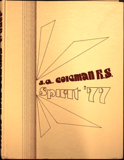 1977 Edition, John A Coleman Catholic High School - Spirit Yearbook (Hurley, NY)