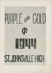 Page 3, 1944 Edition, St Johnsville High School - Purple and Gold Yearbook (St Johnsville, NY) online yearbook collection