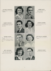 Page 9, 1944 Edition, St Johnsville High School - Purple and Gold Yearbook (St Johnsville, NY) online yearbook collection