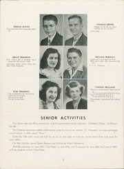 Page 10, 1945 Edition, St Johnsville High School - Purple and Gold Yearbook (St Johnsville, NY) online yearbook collection
