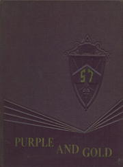 Page 1, 1957 Edition, St Johnsville High School - Purple and Gold Yearbook (St Johnsville, NY) online yearbook collection