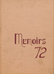 Andover Central High School - Memoirs Yearbook (Andover, NY) online yearbook collection, 1972 Edition, Page 1