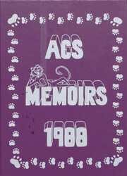 Andover Central High School - Memoirs Yearbook (Andover, NY) online yearbook collection, 1988 Edition, Page 1