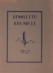 Page 1, 1937 Edition, Broadalbin High School - Kennyetto Kronicle Yearbook (Broadalbin, NY) online yearbook collection