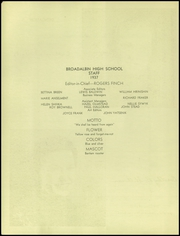 Page 4, 1937 Edition, Broadalbin High School - Kennyetto Kronicle Yearbook (Broadalbin, NY) online yearbook collection