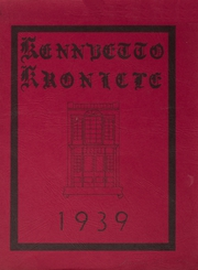 Page 1, 1939 Edition, Broadalbin High School - Kennyetto Kronicle Yearbook (Broadalbin, NY) online yearbook collection