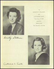 Page 5, 1939 Edition, Broadalbin High School - Kennyetto Kronicle Yearbook (Broadalbin, NY) online yearbook collection