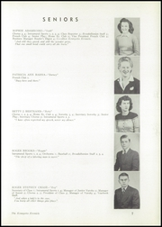 Page 9, 1943 Edition, Broadalbin High School - Kennyetto Kronicle Yearbook (Broadalbin, NY) online yearbook collection