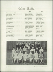 Page 16, 1946 Edition, Broadalbin High School - Kennyetto Kronicle Yearbook (Broadalbin, NY) online yearbook collection