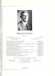Page 17, 1933 Edition, Medical College of Virginia - X Ray Yearbook (Richmond, VA) online yearbook collection