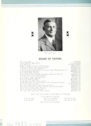 Page 16, 1935 Edition, Medical College of Virginia - X Ray Yearbook (Richmond, VA) online yearbook collection