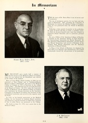 Page 8, 1951 Edition, Medical College of Virginia - X Ray Yearbook (Richmond, VA) online yearbook collection