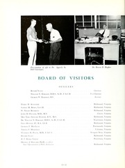 Page 14, 1958 Edition, Medical College of Virginia - X Ray Yearbook (Richmond, VA) online yearbook collection