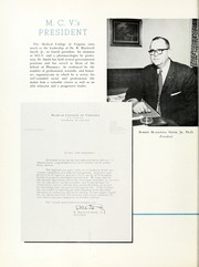 Page 10, 1961 Edition, Medical College of Virginia - X Ray Yearbook (Richmond, VA) online yearbook collection