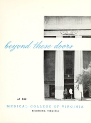 Page 5, 1961 Edition, Medical College of Virginia - X Ray Yearbook (Richmond, VA) online yearbook collection