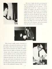 Page 13, 1963 Edition, Medical College of Virginia - X Ray Yearbook (Richmond, VA) online yearbook collection