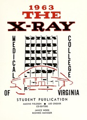 Page 7, 1963 Edition, Medical College of Virginia - X Ray Yearbook (Richmond, VA) online yearbook collection