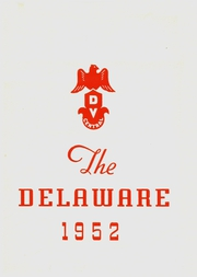 Delaware Valley Central High School - Delaware Yearbook (Callicoon, NY) online yearbook collection, 1952 Edition, Page 1
