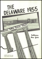 Page 5, 1955 Edition, Delaware Valley Central High School - Delaware Yearbook (Callicoon, NY) online yearbook collection