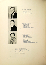 Page 14, 1936 Edition, Elba Central School - Revue Yearbook (Elba, NY) online yearbook collection