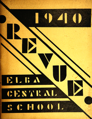 Elba Central School - Revue Yearbook (Elba, NY) online yearbook collection, 1940 Edition, Page 1