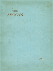 Avoca Central High School - Avocan Yearbook (Avoca, NY) online yearbook collection, 1928 Edition, Page 1