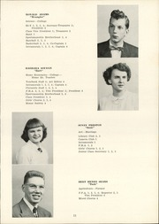 Page 13, 1952 Edition, Clymer Central High School - Spotlight Yearbook (Clymer, NY) online yearbook collection