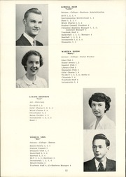 Page 14, 1952 Edition, Clymer Central High School - Spotlight Yearbook (Clymer, NY) online yearbook collection