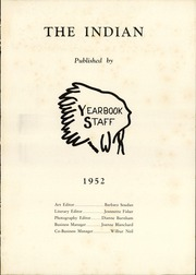 Page 3, 1952 Edition, Clymer Central High School - Spotlight Yearbook (Clymer, NY) online yearbook collection