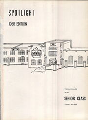 Page 5, 1958 Edition, Clymer Central High School - Spotlight Yearbook (Clymer, NY) online yearbook collection