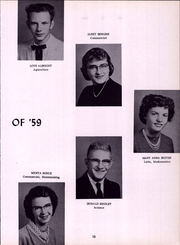 Page 17, 1959 Edition, Clymer Central High School - Spotlight Yearbook (Clymer, NY) online yearbook collection