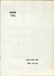 Page 5, 1966 Edition, Clymer Central High School - Spotlight Yearbook (Clymer, NY) online yearbook collection