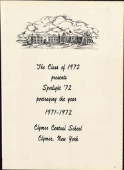 Page 9, 1972 Edition, Clymer Central High School - Spotlight Yearbook (Clymer, NY) online yearbook collection