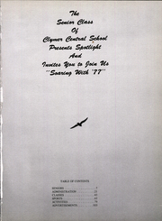 Page 3, 1977 Edition, Clymer Central High School - Spotlight Yearbook (Clymer, NY) online yearbook collection