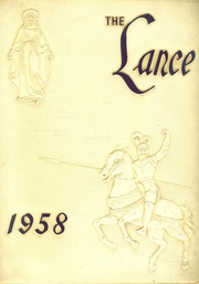 1958 Edition, St Augustine High School - Lance Yearbook (Brooklyn, NY)