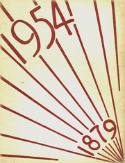 Page 1, 1954 Edition, Chateaugay Central High School - Maroon and White Yearbook (Chateaugay, NY) online yearbook collection