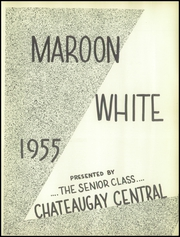 Page 5, 1955 Edition, Chateaugay Central High School - Maroon and White Yearbook (Chateaugay, NY) online yearbook collection