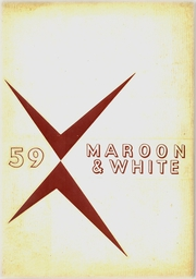 Page 1, 1959 Edition, Chateaugay Central High School - Maroon and White Yearbook (Chateaugay, NY) online yearbook collection
