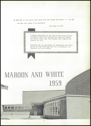 Page 5, 1959 Edition, Chateaugay Central High School - Maroon and White Yearbook (Chateaugay, NY) online yearbook collection