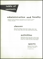 Page 6, 1959 Edition, Chateaugay Central High School - Maroon and White Yearbook (Chateaugay, NY) online yearbook collection