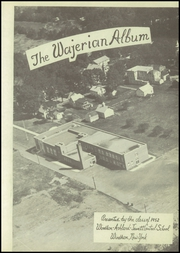 Page 7, 1952 Edition, Windham Ashland Jewett Central School - Wajerian Yearbook online yearbook collection