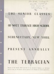 Page 5, 1944 Edition, Nott Terrace High School - Terracian Yearbook (Schenectady, NY) online yearbook collection