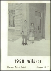 Page 5, 1958 Edition, Sherman Central High School - Wildcat Yearbook (Sherman, NY) online yearbook collection