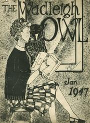1947 Edition, Wadleigh High School - Owl Yearbook (New York, NY)