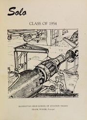 Page 5, 1954 Edition, Manhattan High School of Aviation Trades - Solo Yearbook (New York, NY) online yearbook collection