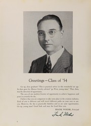 Page 8, 1954 Edition, Manhattan High School of Aviation Trades - Solo Yearbook (New York, NY) online yearbook collection
